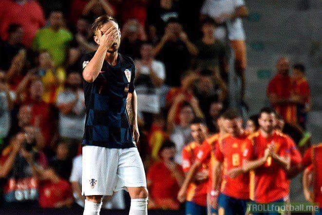 FT: Spain 6-0 Croatia.   Massacre of the World Cup finalists by Luis Enrique's Spain