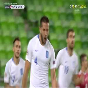K. Manolas goal (Hungary 1-[1] Greece) 17'