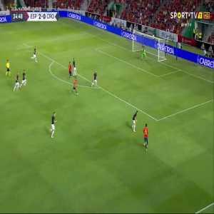 L. Kalinić own goal (Spain [3]-0 Croatia) 35'