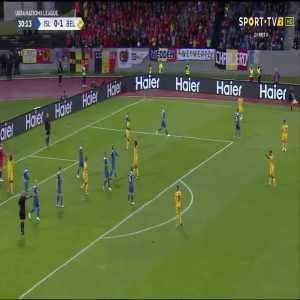 R. Lukaku goal (Iceland 0-[2] Belgium) 30'