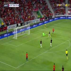Rodrigo goal (Spain [4]-0 Croatia) 49'