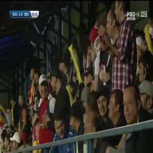 Romania u21 [2] -0 Bosnia u21 Ianis Hagi goal directly from corner kick