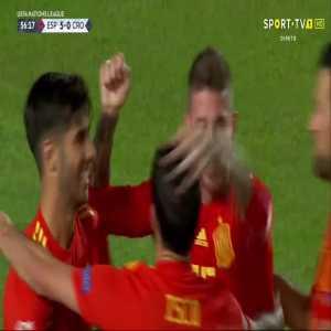Sergio Ramos goal (Spain [5]-0 Croatia) 56'