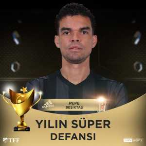 Pepe named Super League defender of the year award.