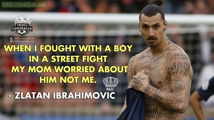 Just Zlatan Ibrahimović Things.😂😂😎