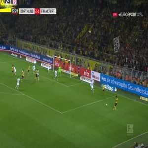 Borussia Dortmund [3]-1 Eintracht Frankfurt - Paco Alcácer great goal 88'