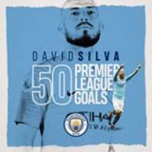 50 Premier League goals for David Silva!  (🎥 Manchester City)