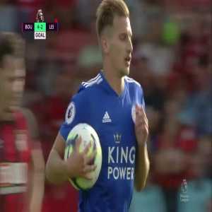 Bournemouth 4-[2] Leicester City: Albrighton