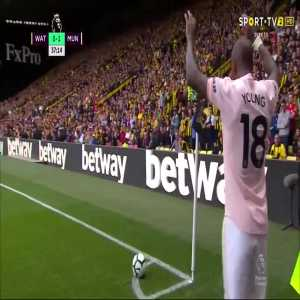 C. Smalling goal (Watford 0-[2] Man Utd) 37'