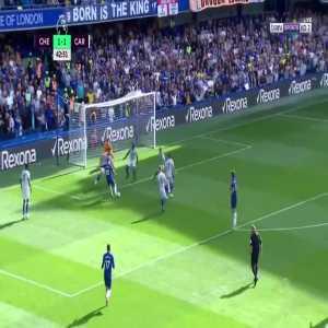 E. Hazard goal (Chelsea [2]-1 Cardiff) 43'