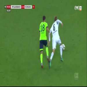 Embolo goal (M'gladbach 2-[1] Schalke 04) 93'