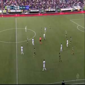 L. de Jong goal (ADO 0-[2] PSV) 47'