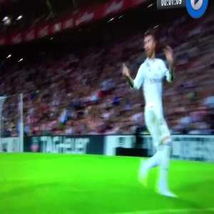 Marcelo shows his magnificent ball control