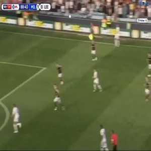 Millwall 1-[1] Leeds Jack Harrison Goal