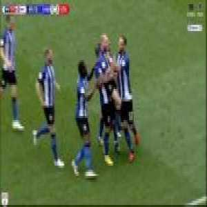 Sheffield Wednesday [2]-2 Stoke City: Barry Bannan FK