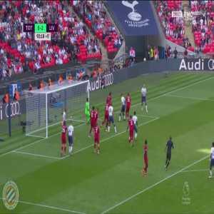 Tottenham [1]-2 Liverpool : Lamela 90+3'
