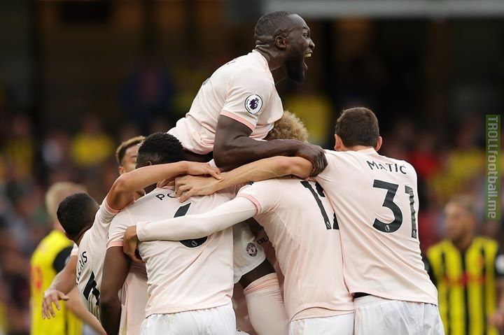 Two wins in a row for Manchester United as they end Watford's 100% record with a 2-1 win at Vicarage Road