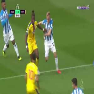 W. Zaha goal (Huddersfield 0-[1] Crystal Palace) 38'