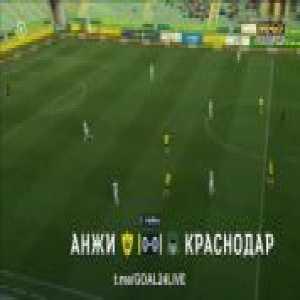 Anzhi Makhachkala - Krasnodar 0-3 Pavel Mamaev 58' - rabona