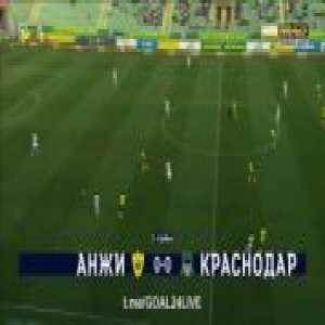 Anzhi Makhachkala - Krasnodar 0-[4] Ivan Ignatyev 82'