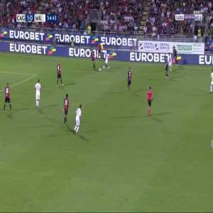 Cagliari 1-[1] Milan - Gonzalo Higuain 56'