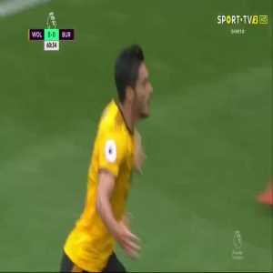 R. Jiménez goal (Wolverhampton [1]-0 Burnley) 61'