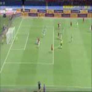 Roma 2-0 Chievo - Bryan Cristante 30'
