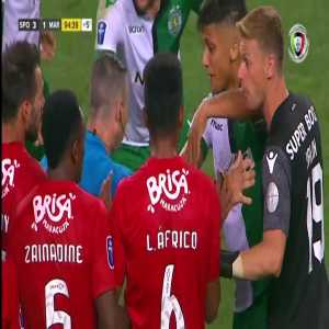 Sporting 3-1 Marítimo (Africo Straight Red Card)