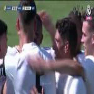 Vinícius Júnior beautiful freekick (Real Madrid Castilla [3]-0 Unionistas) 40'