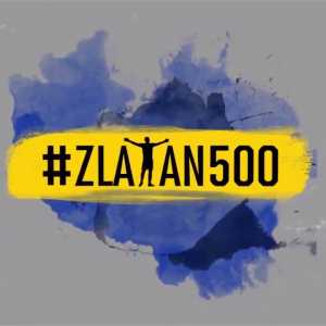 Zlatan Ibrahimovic joins Cristiano Ronaldo and Lionel Messi as the only active players with 500+ career goals