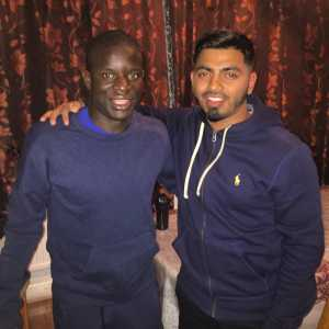 After losing a train, N'Golo Kanté had dinner and played FIFA at some stranger's house