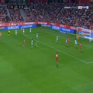 Girona 1-0 Celta Vigo - Christian Stuani 22'