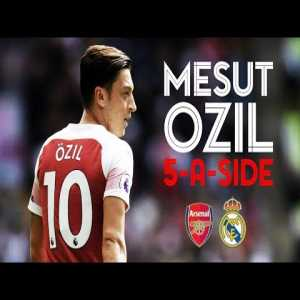 Cristiano Ronaldo, Thierry Henry, Zinedine Zidane | Mesut Ozil's dream five-a-side team