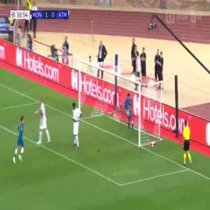 Diego Costa goal (Monaco 1-[1] Atlético) 31'