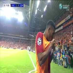 Galatasaray 1-0 Lokomotiv Moscow: Garry Rodrigues