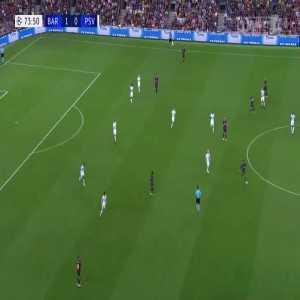 O. Dembélé great goal (Barcelona [2]-0 PSV) 74'