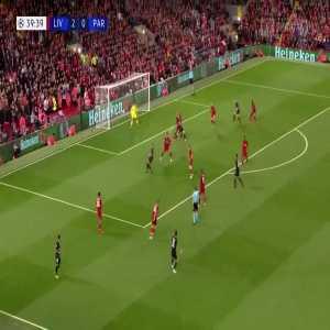 T. Meunier goal (Liverpool 2-[1] PSG) 40'