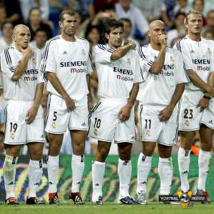 The Golden Wall of Real Madrid