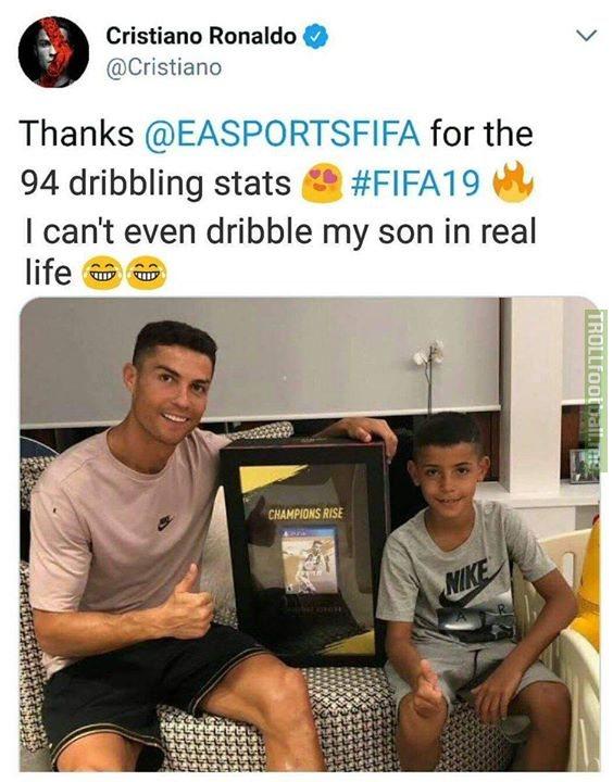 Cristiano Ronaldo 😂