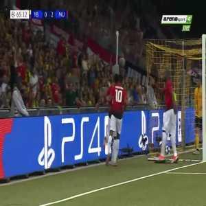 A. Martial goal (Young Boys 0-[3] Man Utd) 65'