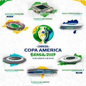 Copa América 2019 host cities and venues announced