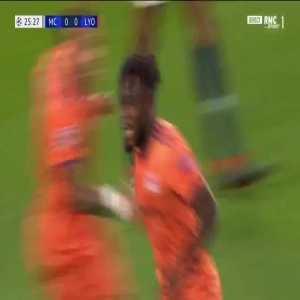 M. Cornet goal (Man City 0-[1] Lyon) 25'