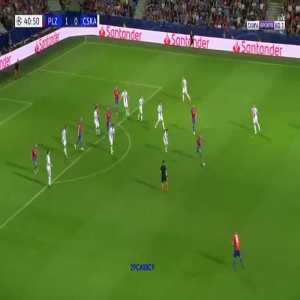 M. Krmenčík goal (Viktoria Plzeň [2]-0 CSKA) 41'