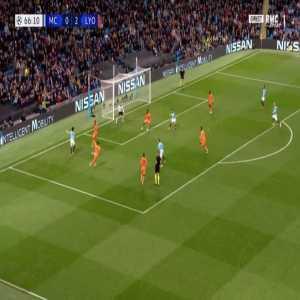 Manchester City [1]-2 Lyon - Bernardo Silva 67'