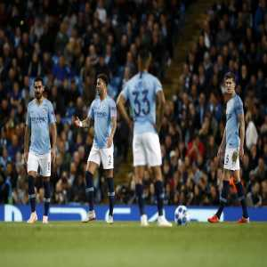 Manchester City are the first English team to lose four consecutive Champions League matches in the competition's history.