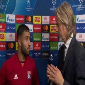 Nabil Fekir's post-match interview in english