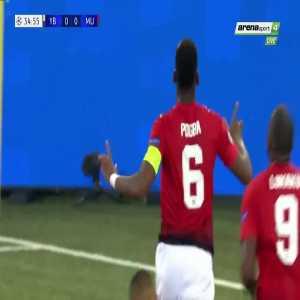 P. Pogba goal (Young Boys 0-[1] Man Utd) 35'
