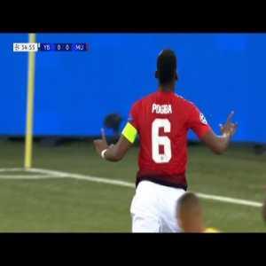 Paul Pogba vs. Young Boys Highlights