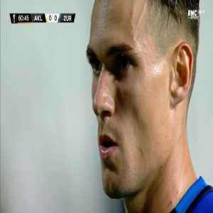 AEK Larnaca 0-1 Zurich - Benjamin Kololli penalty 61'
