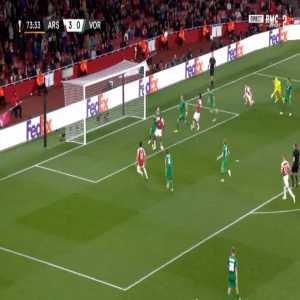 Arsenal 4-0 Vorskla - Mesut Ozil 74'